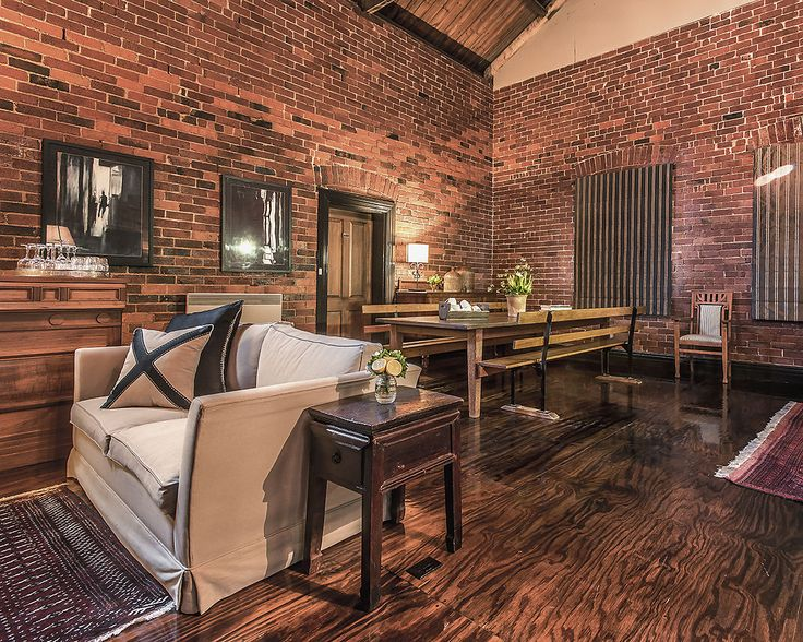 Our guest lounge at Euroa Butter Factory
