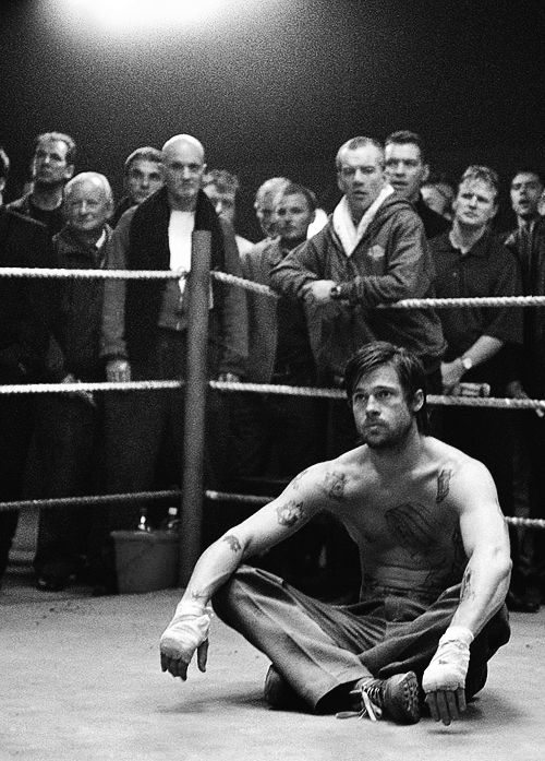Brad Pitt's character had indecipherable speech in Snatch (2000) because he couldn't master a London accent #Netflix