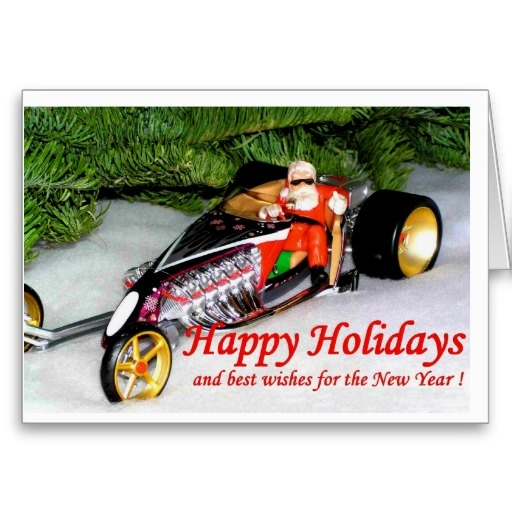 18 best Hot Rod Christmas Cards images on Pinterest | Hot rods ...