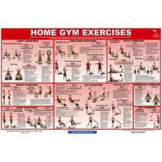 Home Gym Exercise Chart