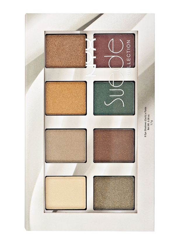NYX Introduces Suede Eyeshadow Palette for Fall 2014