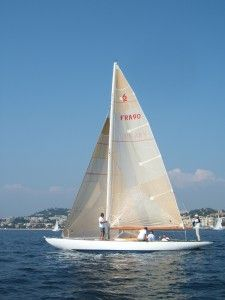 """6 m JI """"Bihannic""""                                                                      -See the photos by G Fautras of this boat."""