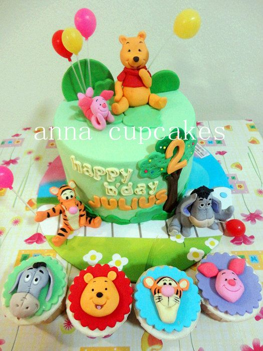 693 best Disney's Winnie the Pooh and Friends Cakes images ...