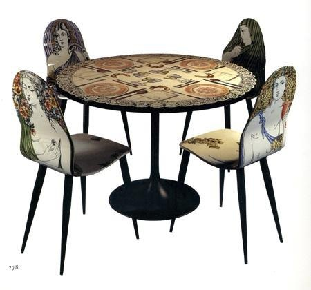 Beautiful Very Cool Painted Table U0026 Chairs