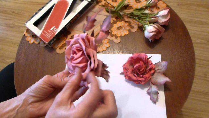 Почему лепестки цветов из фома теряют первоначальную форму