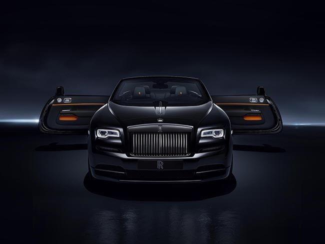 Rolls-Royce Dawn Black Badge Edition #carporn #luxuryes
