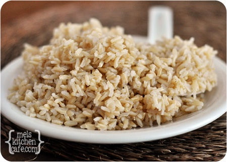 how to cook Perfect Brown Rice with a secret, special method that will blow your mind. @Keita Furuya {Mel's Kitchen Cafe}