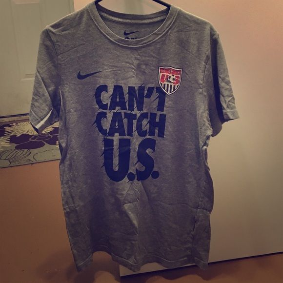 Nike Men's USA soccer shirt In new condition, will get wrinkles out before shipment, from a smoke free home Nike Tops Tees - Short Sleeve