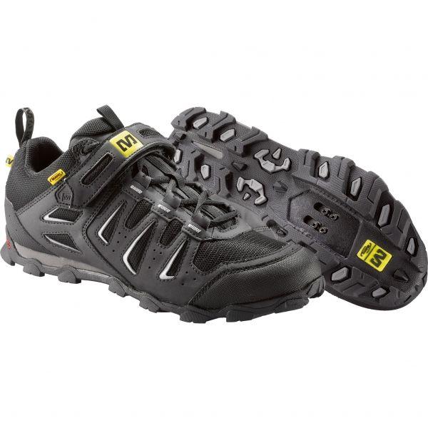Chaussures VTT MAVIC ALPINE Noir/Argent - Probikeshop