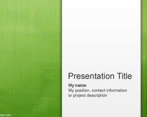 Free Light Green Abstract PowerPoint Template | Free Powerpoint Templates