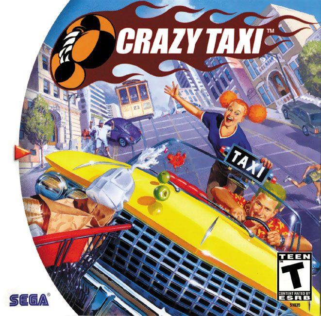 """Crazy Taxi"" > 2000 > Sega Dreamcast > Racing / Mission-Based Racing"