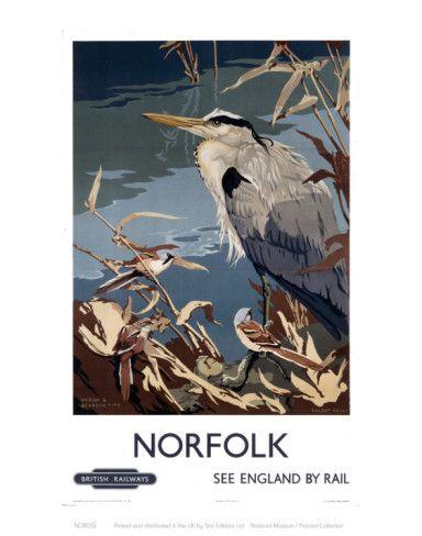 Norfolk Heron Art - AllPosters.co.uk