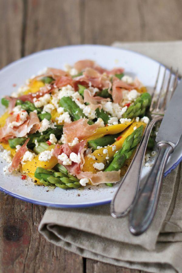 Spargel-Mango-Salat von http://dreierlei-liebelei.blogspot.de