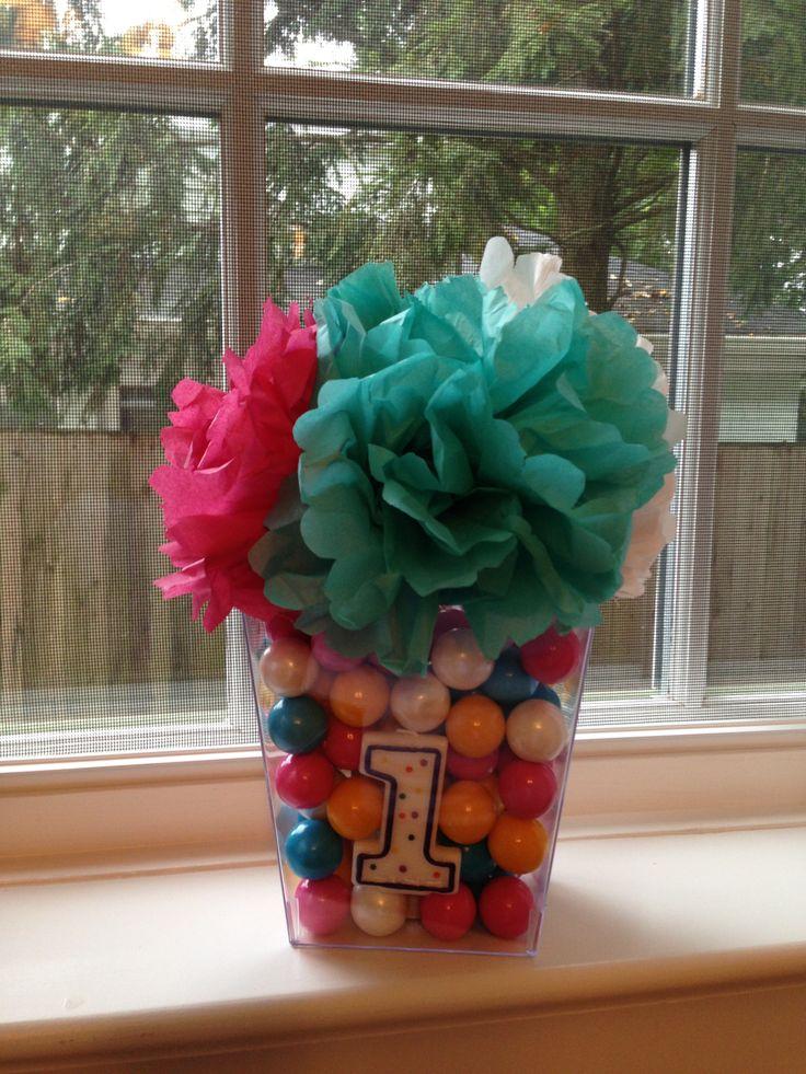 25+ best Bubble gum party ideas on Pinterest   Bubble gum cupcakes ...