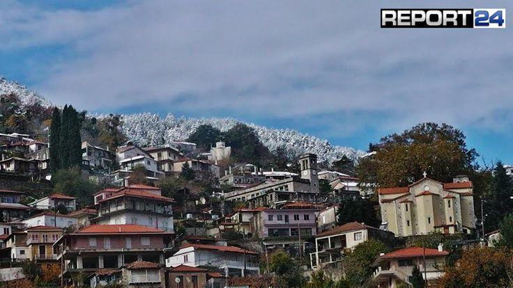 Δείτε τα χιόνια από το όμορφο Γεωργίτσι Λακωνίας..!! : Νέα και Ειδήσεις Λακωνίας Πελοπόννησος Report24 – η Εφημερίδα σας