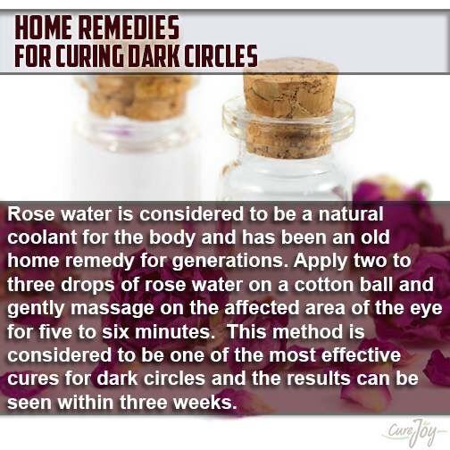 For dark circles
