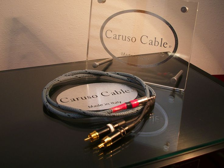 "Cavo connessione Tablet iPhone Mp3 PC Mac - Audiophile - Jack-RCA ""RHODIUM""  M.1,0"