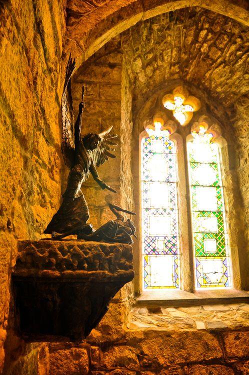 St. Michael Abbey, Marazion, England photo by mendhak