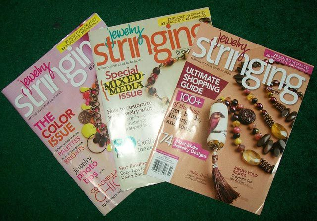 Jewelry Stringing Magazine: Jewelry Stringing Magazines