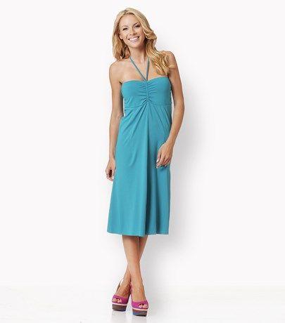 Strapless κοντό jersey φόρεμα - Καθημερινά - Φορέματα | Raxevsky
