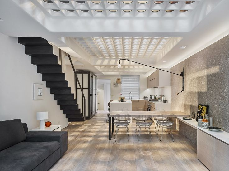 Transparent Perforated Circles Bring Light and Movement to This London Terrace House - Dwell