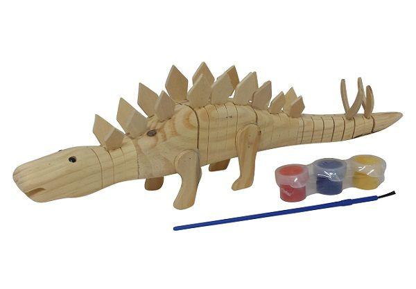 Wobbly Wood Stegosaurus #limetreekids