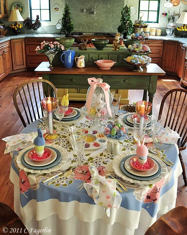 table decorations the little round table spring easter pinterest pastel happy and glasses. Black Bedroom Furniture Sets. Home Design Ideas