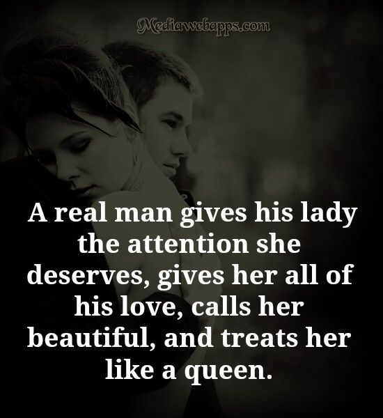 a real woman treats her man quotes - photo #8