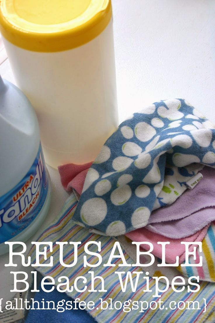 Cleans REUSABLE Bleach Wipes in 2020 (With images) Diy