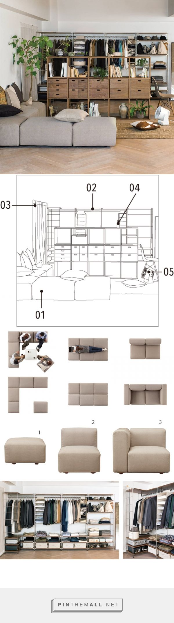 Sala de estar | Compact Life | MUJI