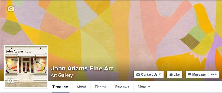 Did you know that we're now on Facebook? Give us a like if you want to keep up-to-date with what's going on! https://www.facebook.com/johnadamsfineart