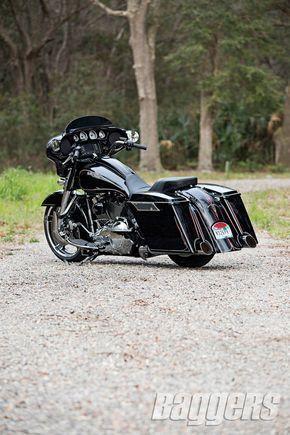 2014 Harley Street Glide: Bolt-On Badness #harleydavidsonstreetglidecvo #harleydavidsonglide