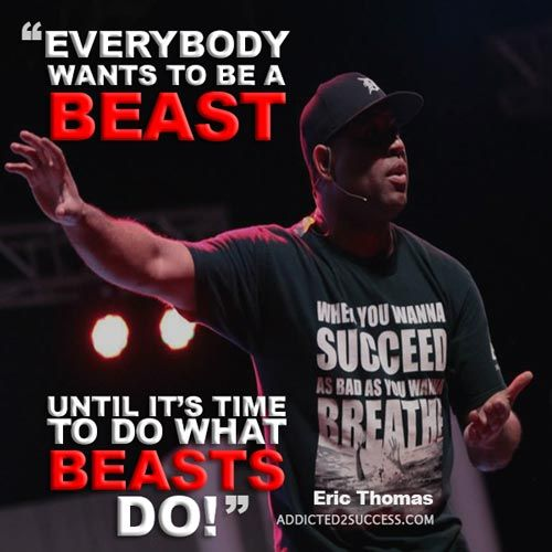22 Eric Thomas Picture Quotes To Keep Your Motivation At It's Peak