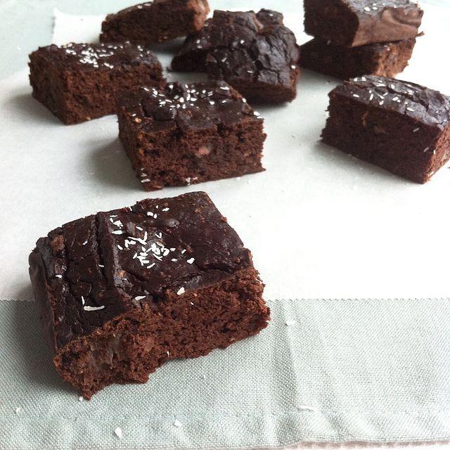 Brownies van zwarte bonen | FeelGoodByFood | Bloglovin'