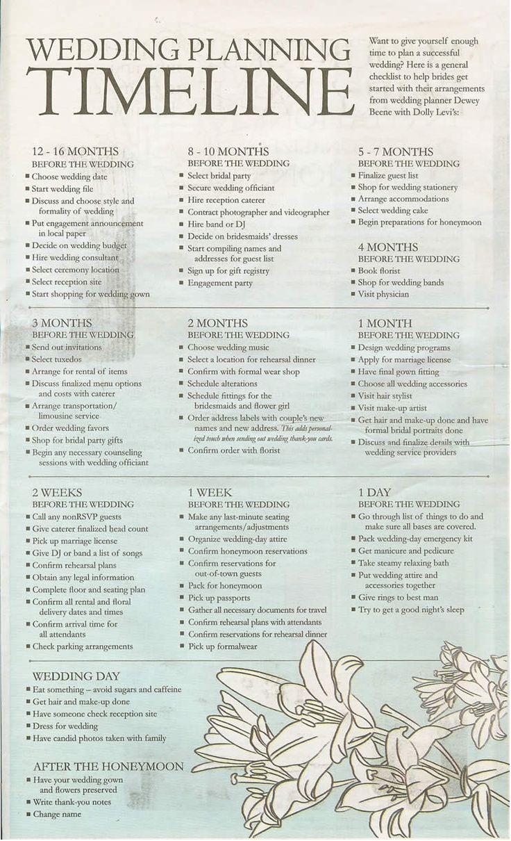 wedding planner!