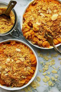 Delicious blog: Zapečené těstoviny s batátovou omáčkou