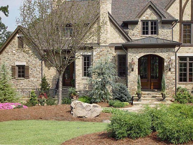 30 best brick and stone combinations images on pinterest for Brick stone combinations