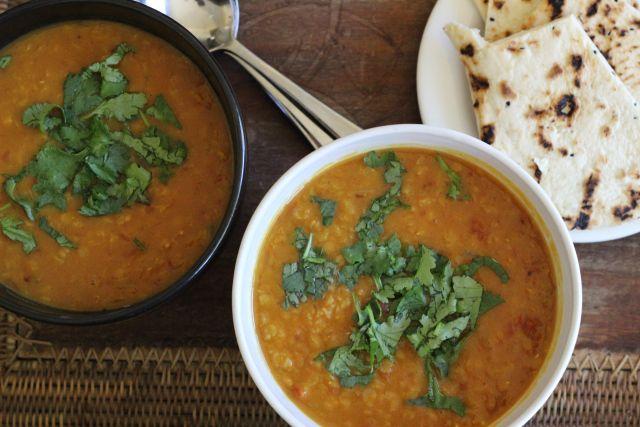 Easy Indian Dahl Soup