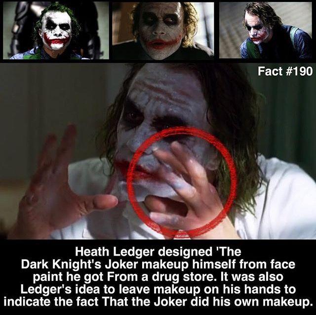 Heath Ledger joker fact #190