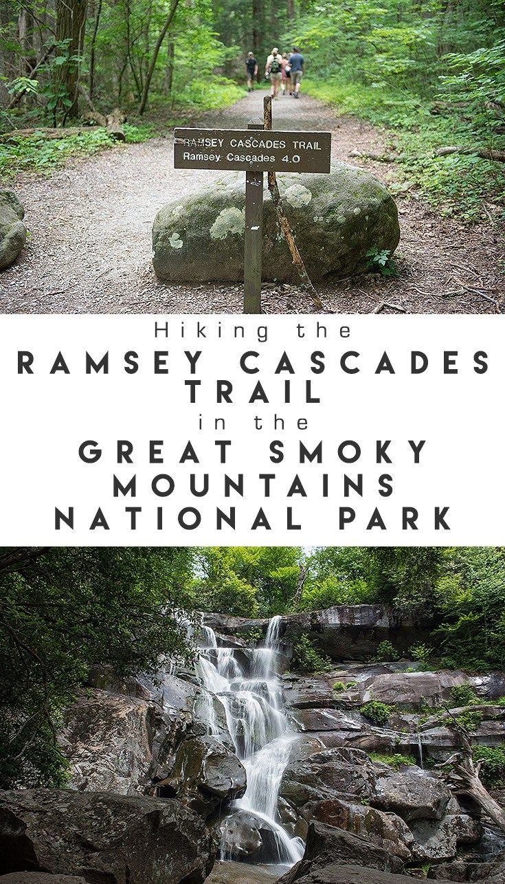 Hiking the Ramsey Cascades Trail in the Great Smoky Mountains National Park