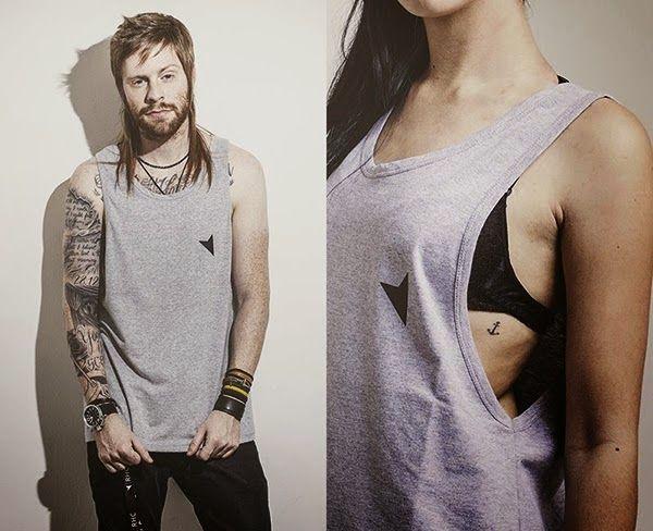 Macho Moda - Blog de Moda Masculina: Como fazer uma Regata Cavada? DIY