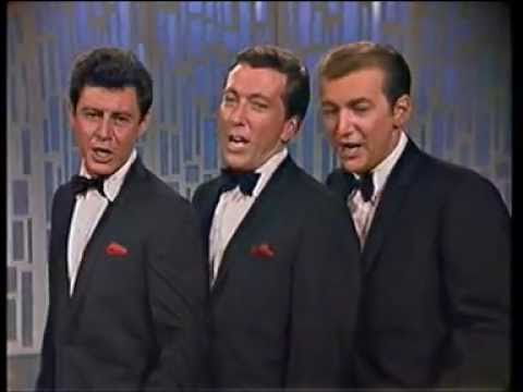 "Andy Williams, Bobby Darin & Eddie Fisher - Do-Re-Mi January 10, 1966. ""This is the Life"""