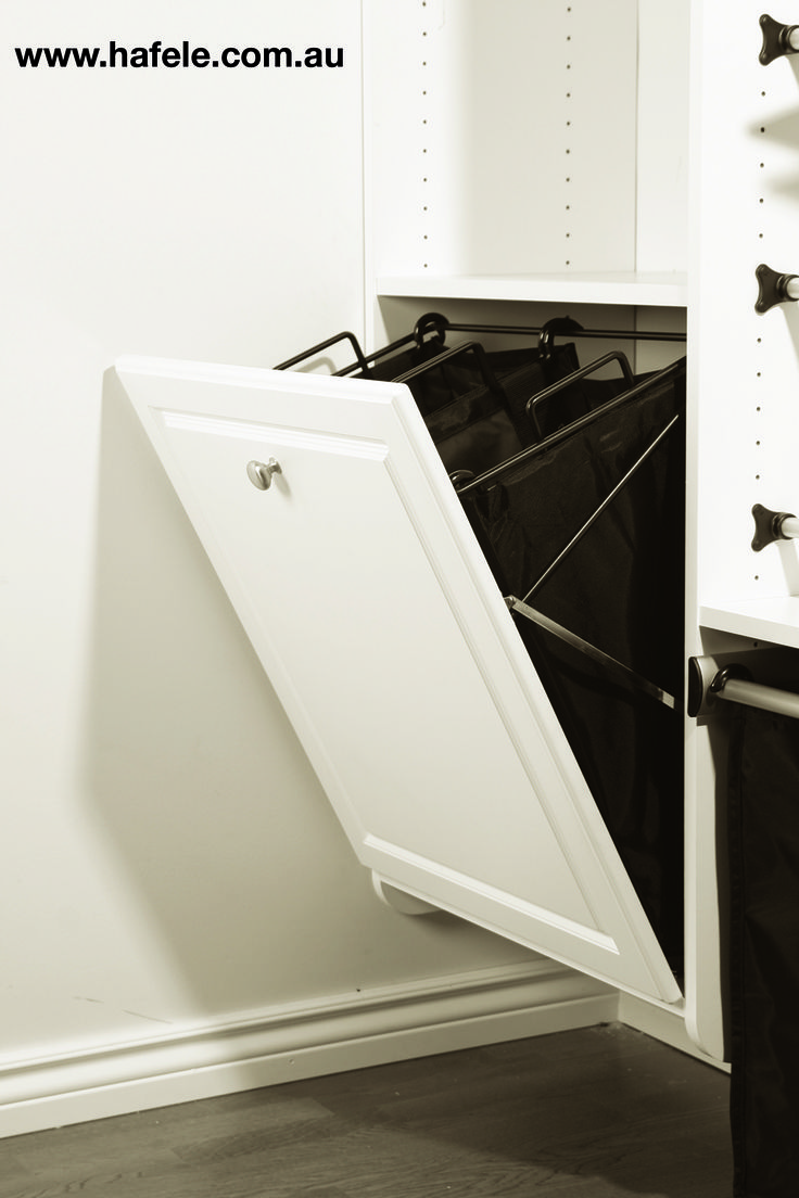Tilt Hamper: perfect for every laundry, bathroom and wardrobe.