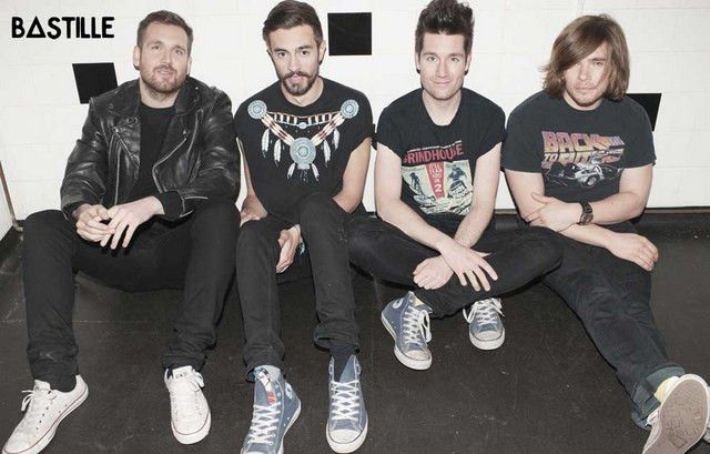 Bastille Cool Tees Band Portrait Music Poster 11x17