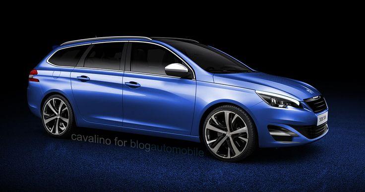 Nouvelle Peugeot 308 SW : Une version GT à venir