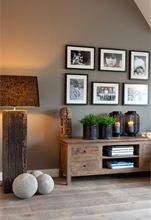 Innbydende interiør og vakre, matte vegger!