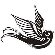 Resultado de imagen de dibujos de golondrinas para tatuajes