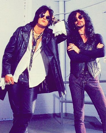 sixx and john corabi- always been a crue fan, but Motley without vince, well, it didn't work for long did it.