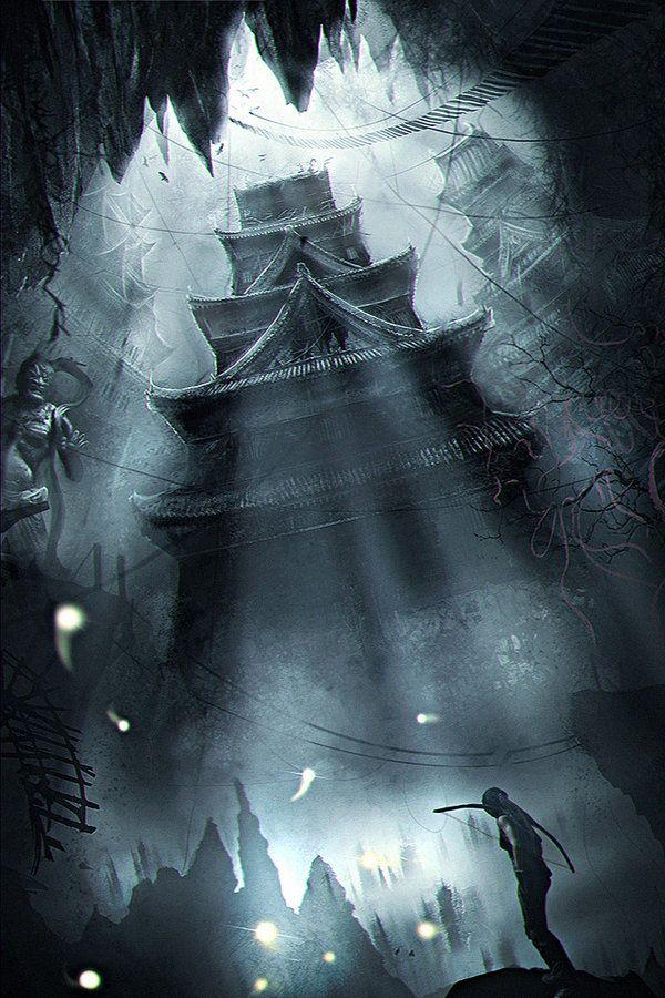 Secret Sanctum: Tomb Raider Enviromental Concept by Eddy-Shinjuku