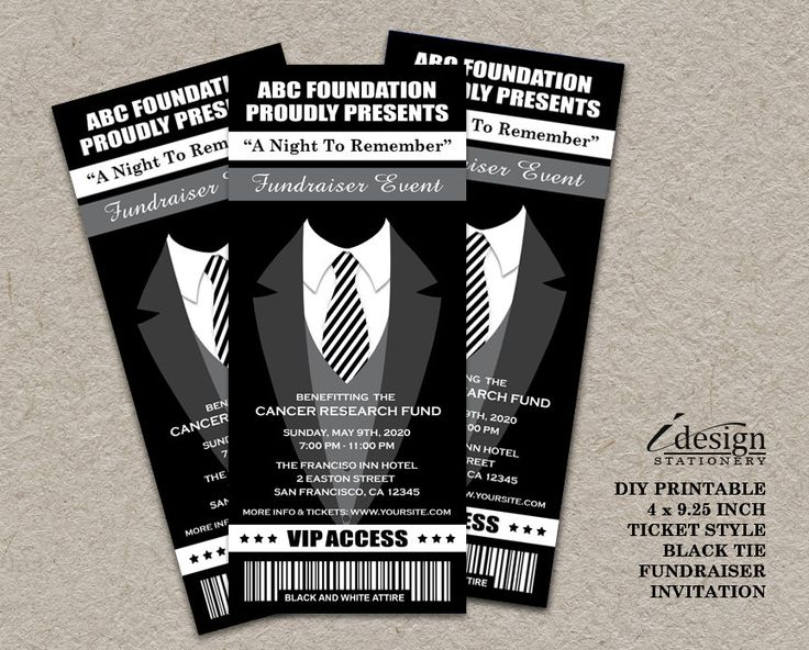 24 best Fundraiser And Charity Fundraising Invitations And Flyers images on Pinterest